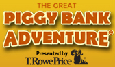 Logo for The Great Piggy Bank Adventure