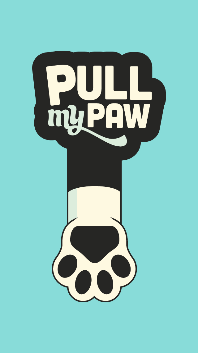 Logo for Pull My Paw