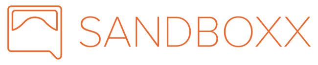Logo for Sandboxx