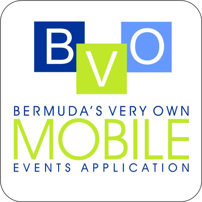Logo for Bermuda's Very Own Events App