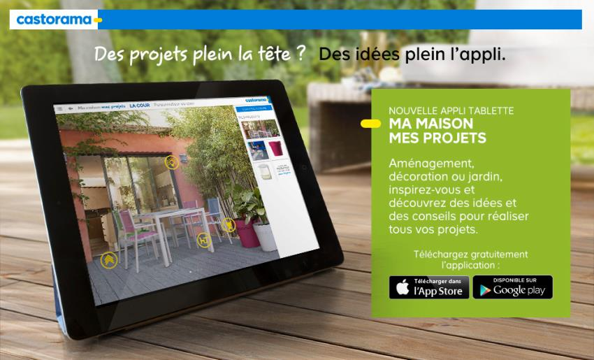 Castorama Ma Maison Mes Projets Mobile App | The Best Mobile App