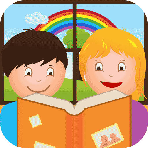 Logo for Photo Tales - Create photo stories with your kids