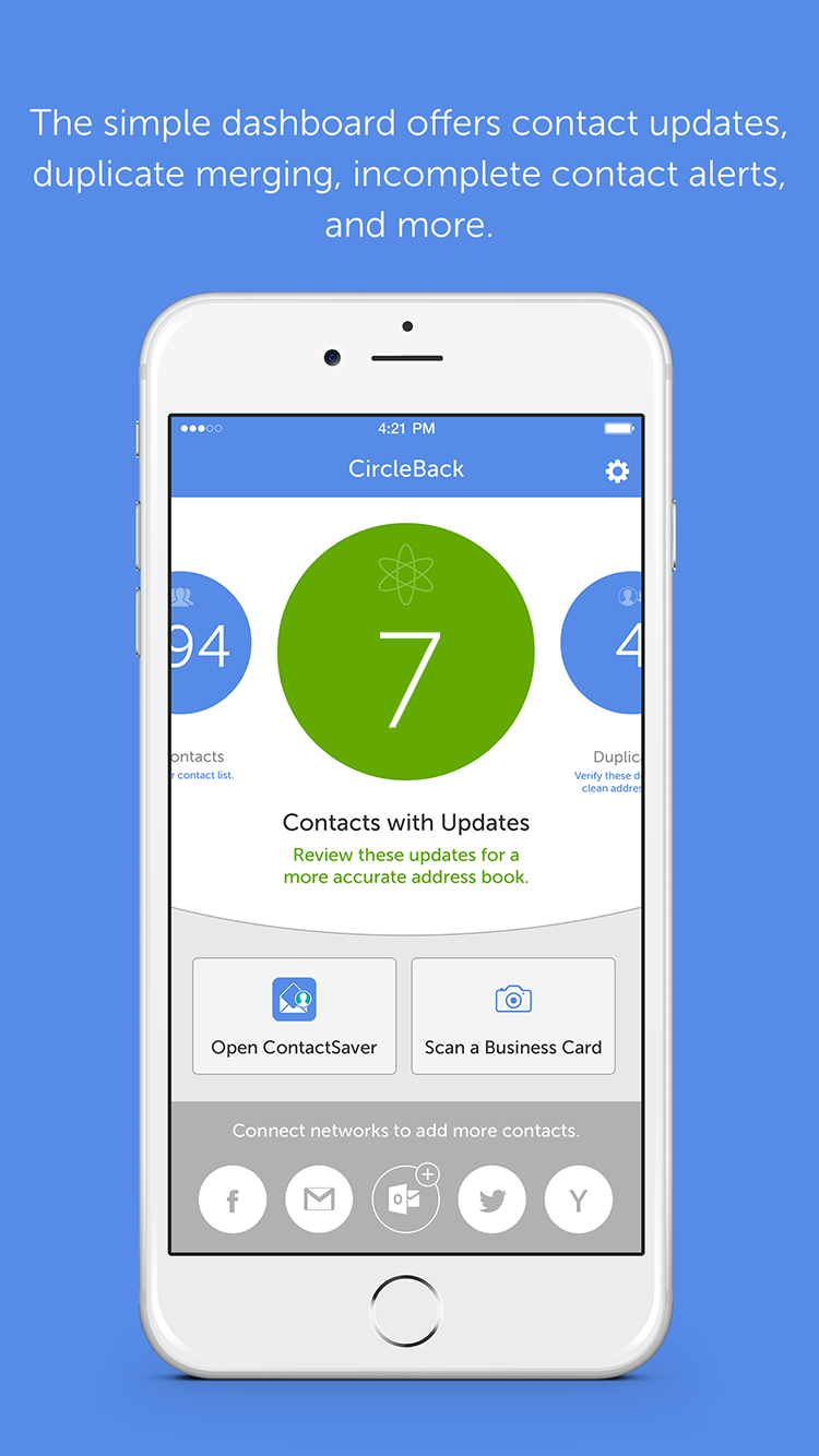 CircleBack - Clean, Update & Sync Your Contacts Mobile App | The ...