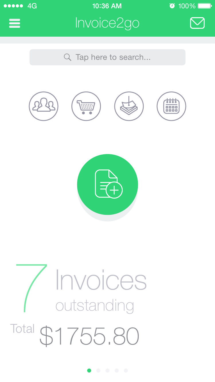 Invoicego Mobile App The Best Mobile App Awards - Invoice 2 go