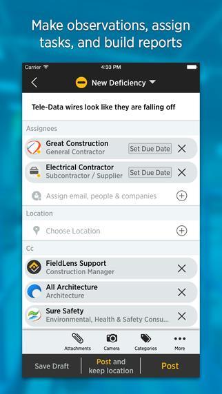 FieldLens Mobile App | The Best Mobile App Awards