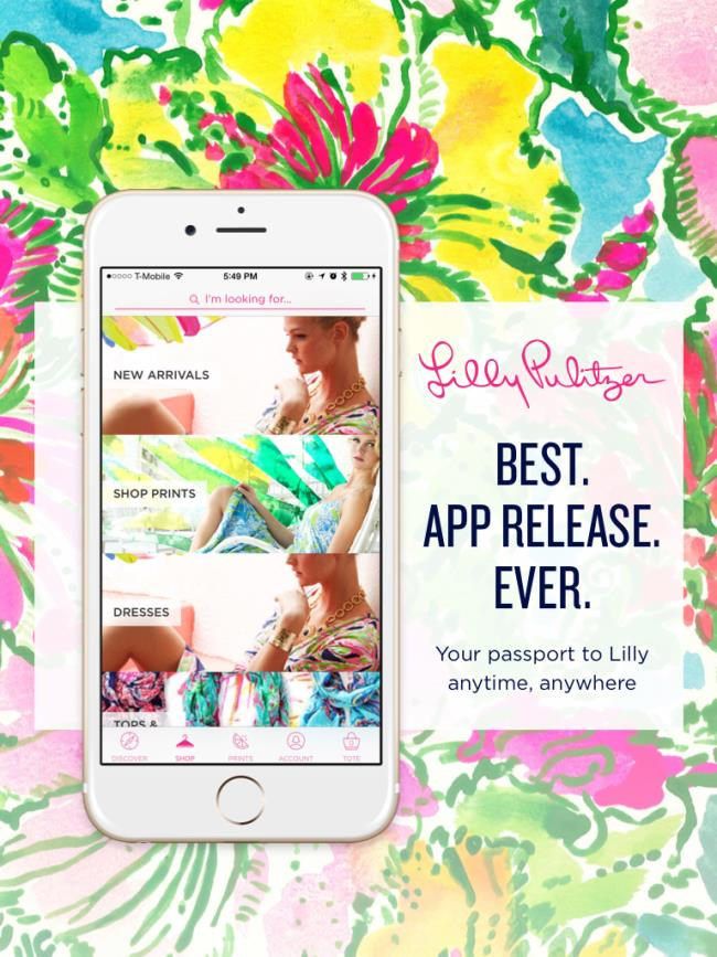 Logo for Lilly Pulitzer