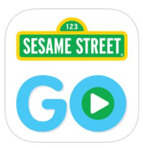 Logo for Sesame Street Go