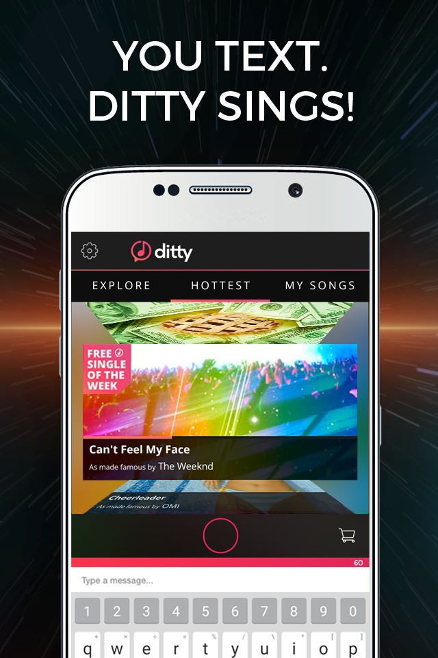 Logo for Ditty by Zya