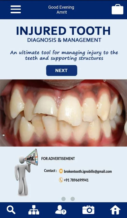 injured tooth mobile app the best mobile app awards