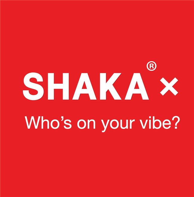Logo for SHAKA – Who's On Your Vibe?