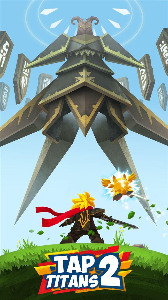 Logo for Tap Titans 2