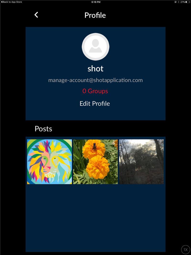 SHOT-a photo sharing app Mobile App | The Best Mobile App Awards