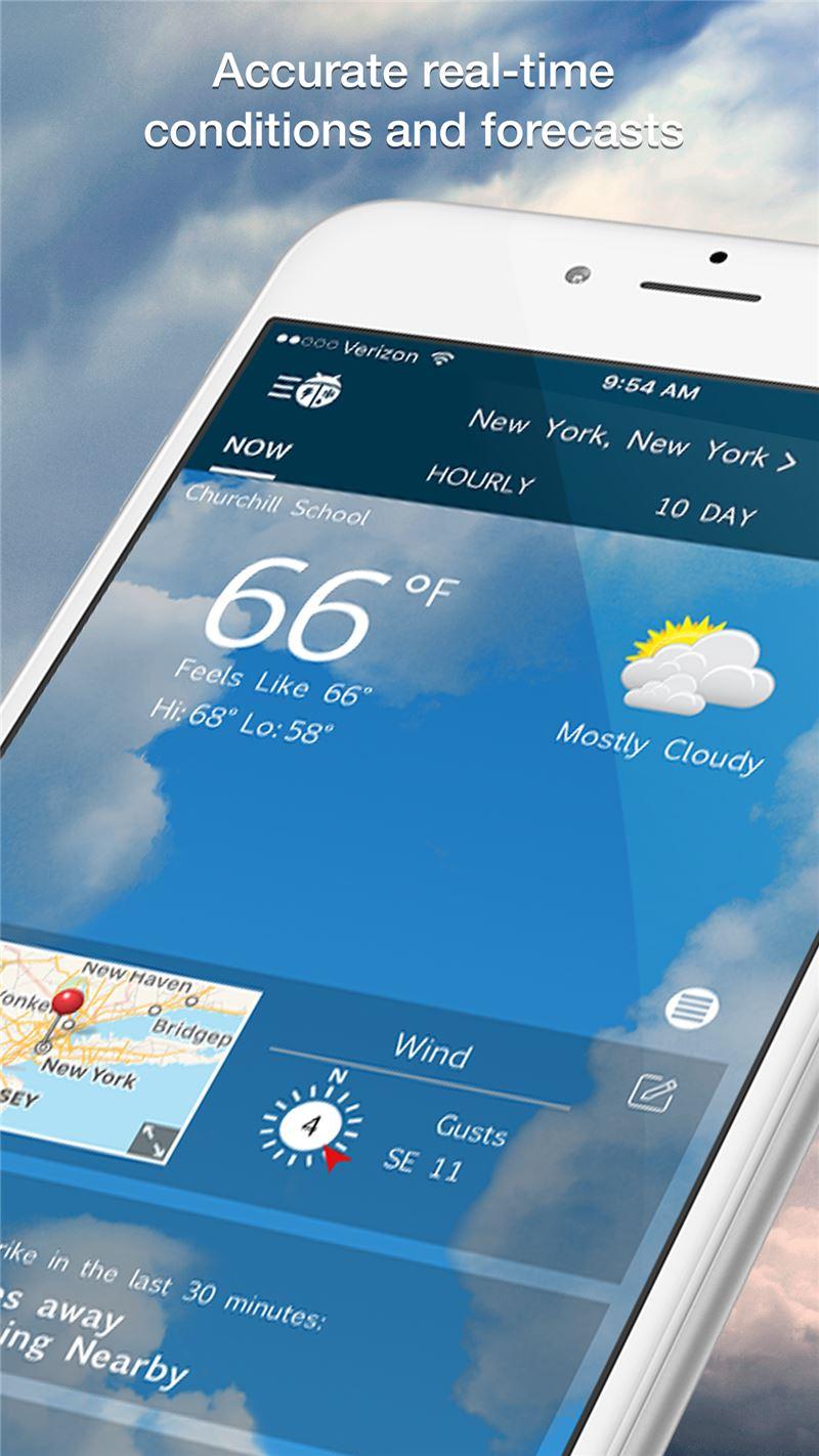 WeatherBug Mobile App   The Best Mobile App Awards