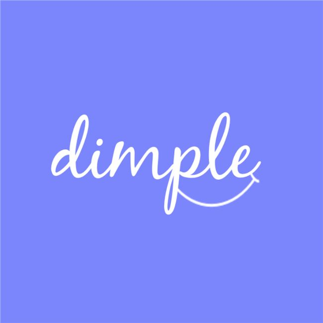 Logo for Dimple: ways to de-stress and relax