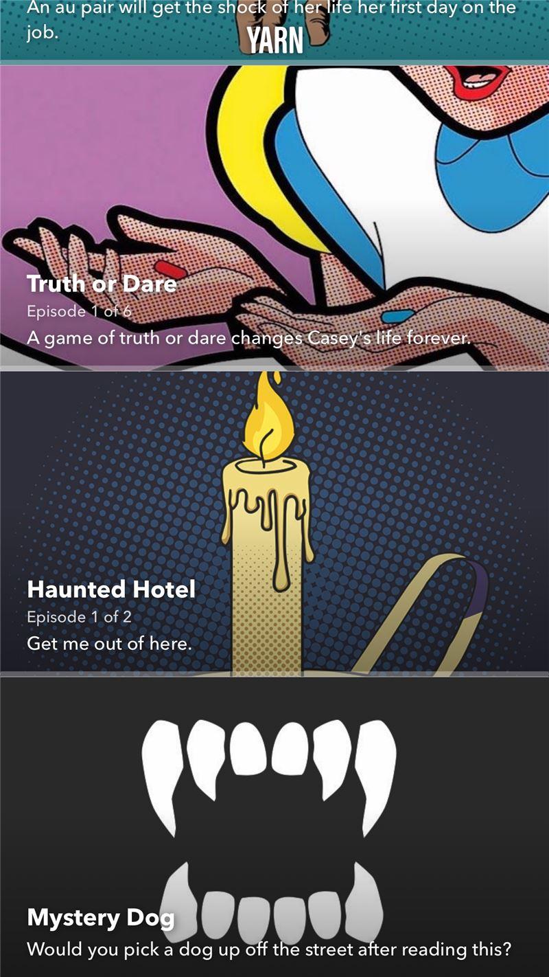 Yarn Mobile App | The Best Mobile App Awards