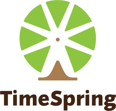 Logo for TimeSpring: Share Tomorrow