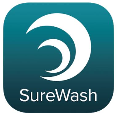 Logo for SureWash Pocket