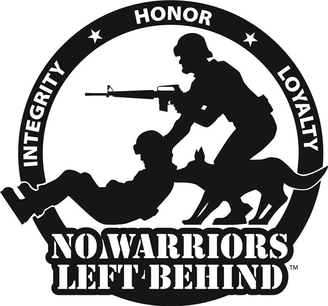 Logo for No Warriors Left Behind