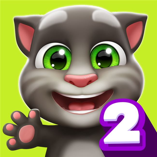 Logo for My Talking Tom 2
