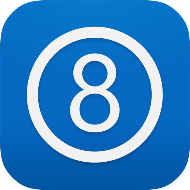 Logo for The 8 App