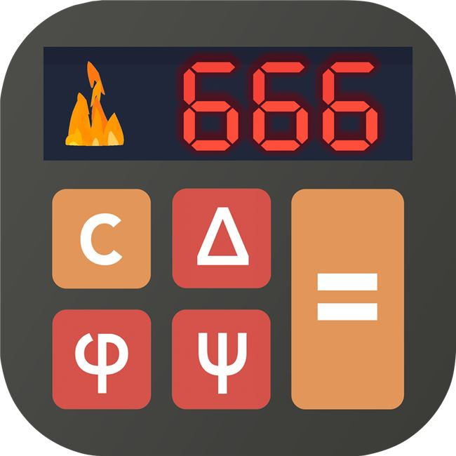 Logo for The Devil's Calculator