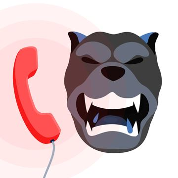 Logo for CallHound: Unwanted Calls Blocker