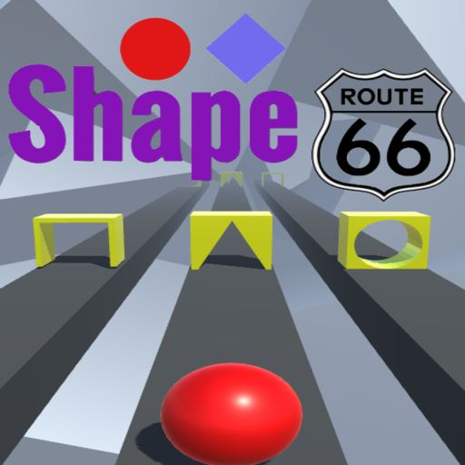 Logo for SHAPE ROUTE 66
