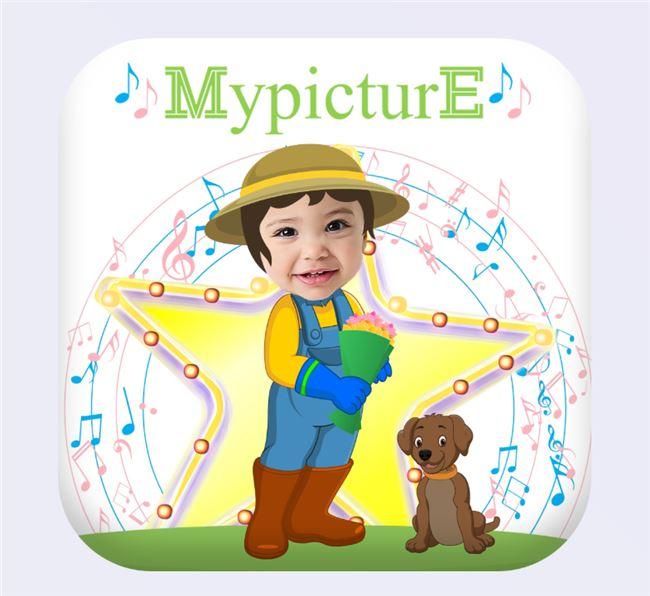 Logo for MypicturE Nursery Rhymes Vol1