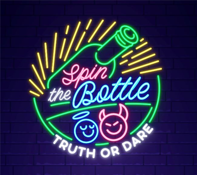 Logo for Spin the Bottle: Truth or Dare