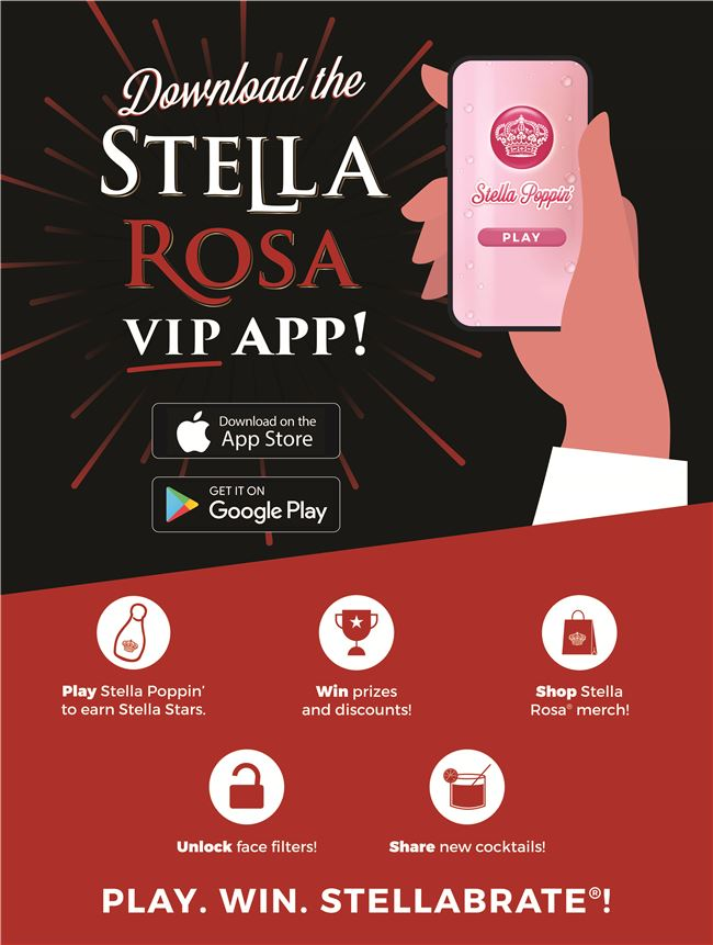 Logo for Stella Rosa VIP App
