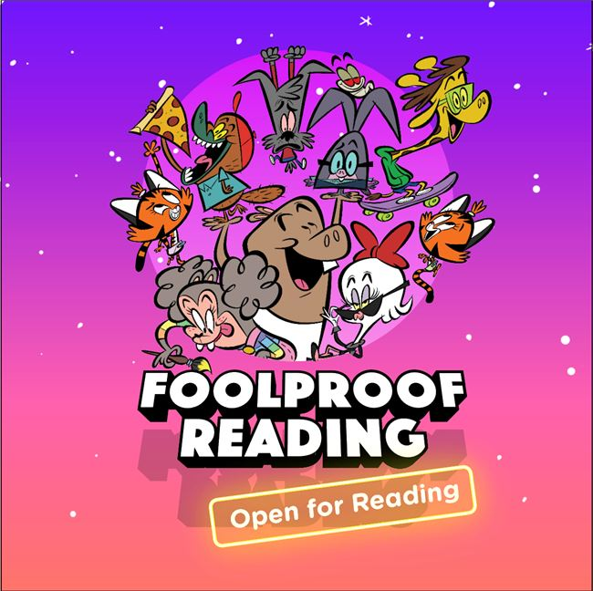Logo for Foolproof Reading