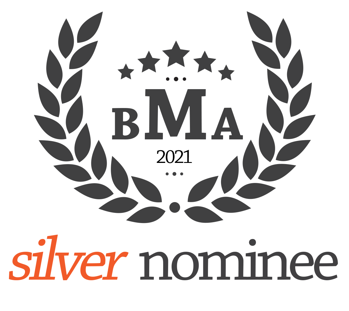 Festeves Silver Nominee badge from BMA